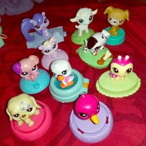 Other - Littlest pet shop bubble heads